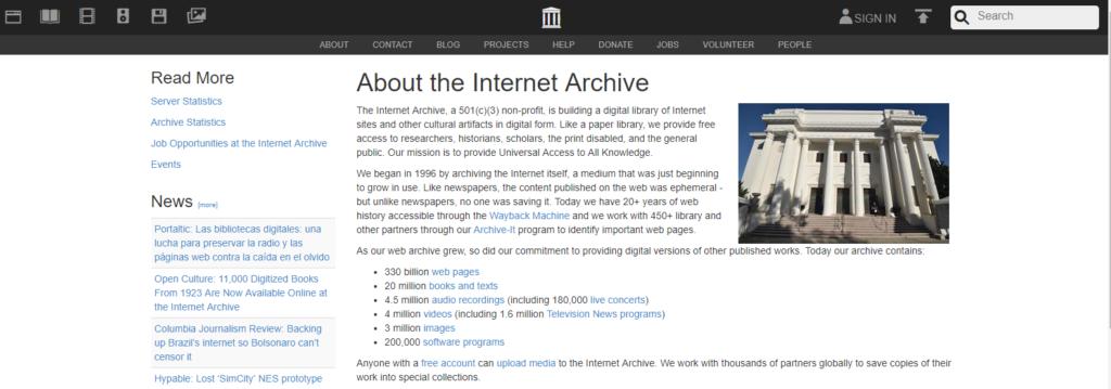 archive.org - estrategias de link building